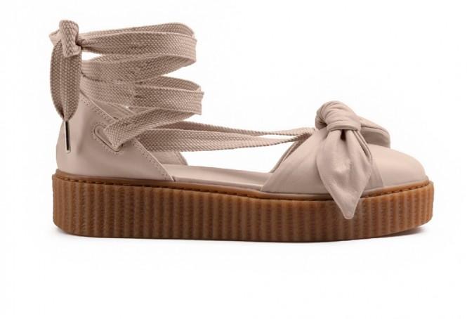 brand new 83aa5 3e7c1 Puma Fenty Bow Sandal by Rihanna Pink Tint