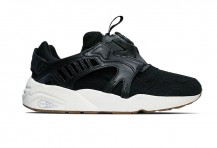 "Puma Trinomic Disc ""Felt"" Black"