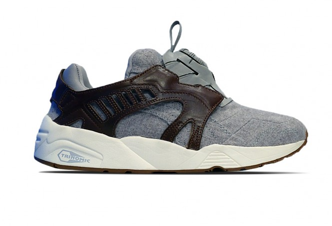 Puma Trinomic Disc Felt Grey/Brown ref/ 358820 01B