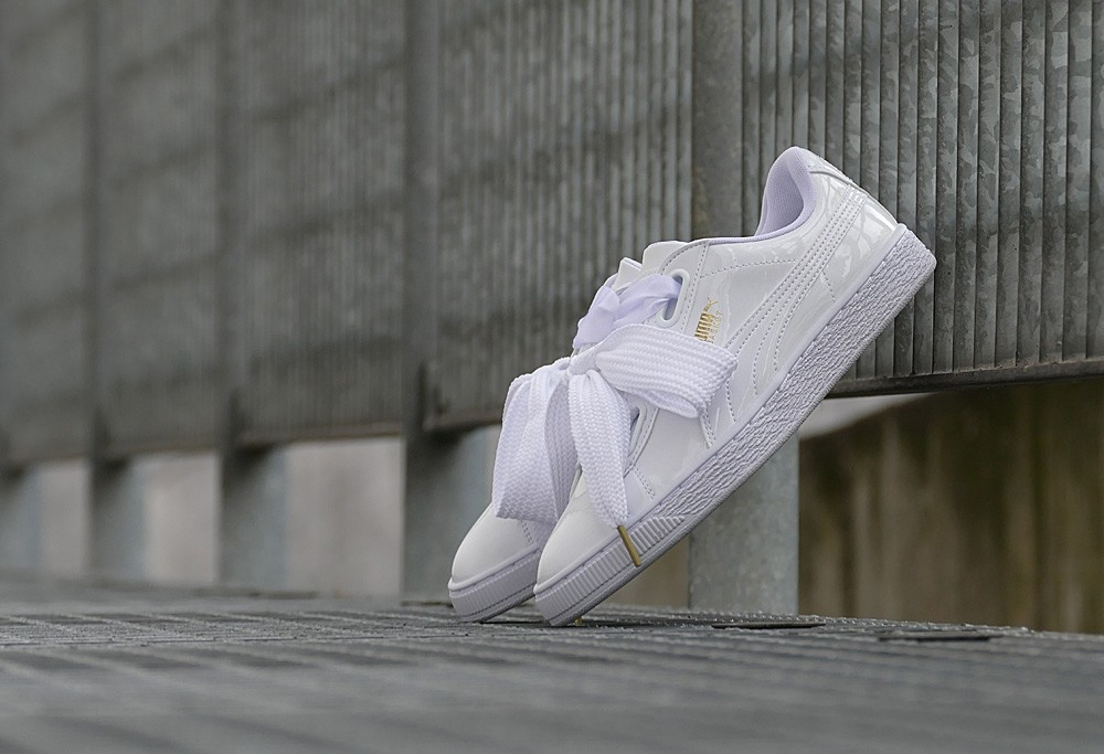 the best attitude 819b2 f8bec Puma Basket Heart Patent