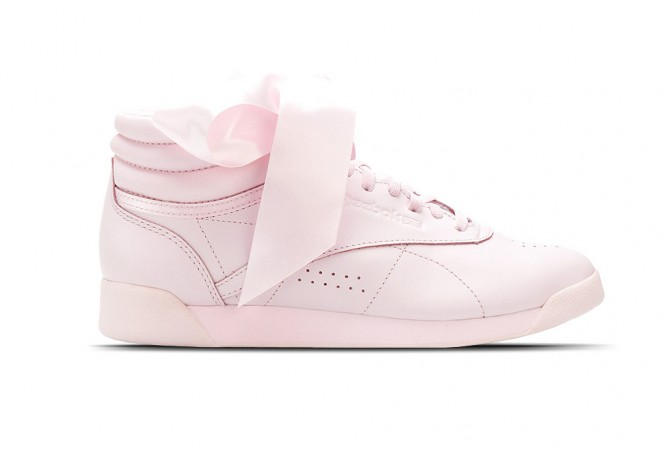 Reebok Freestyle Satin Bow