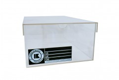 Acrylic Sneaker Box by Throwback Sneakers