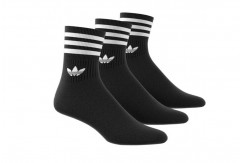 Chaussettes adidas Mid-cut Crew x3