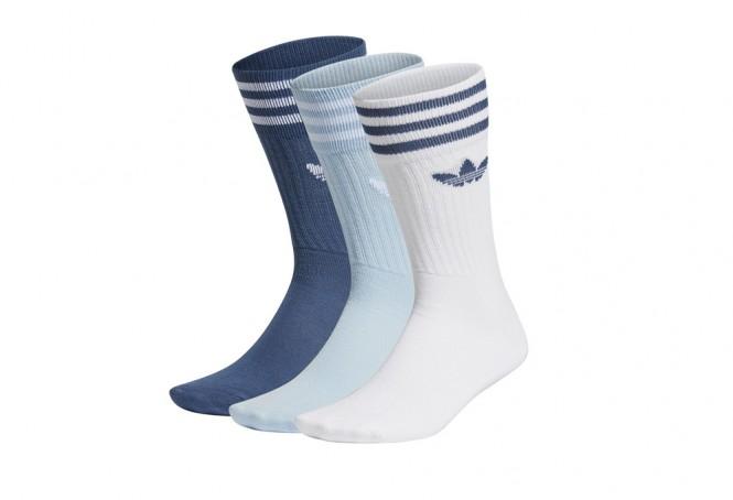 Adidas Solid Crew Socks x3