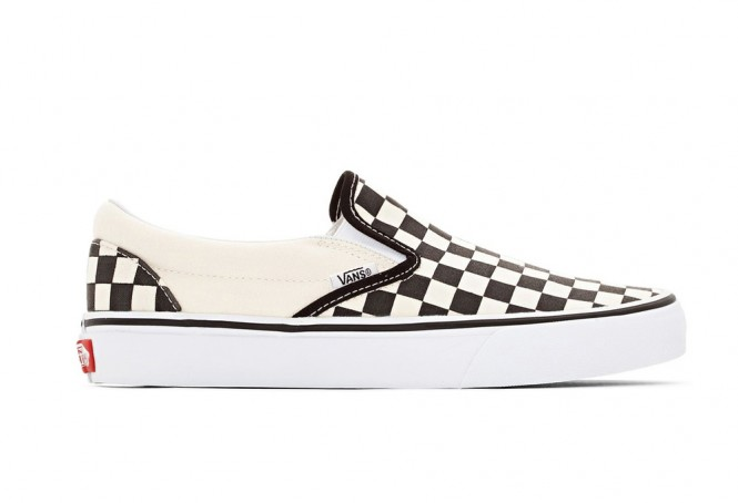 Vans checkerboard Classic Slip on