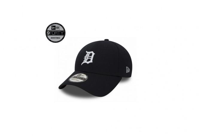 Detroit Tigers Essential Black 9FORTY Cap