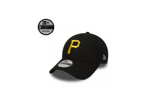 Pittsburgh Pirates Essential Black 9FORTY Cap