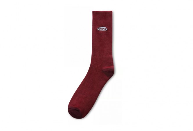 Seasonal Color Crew red socks