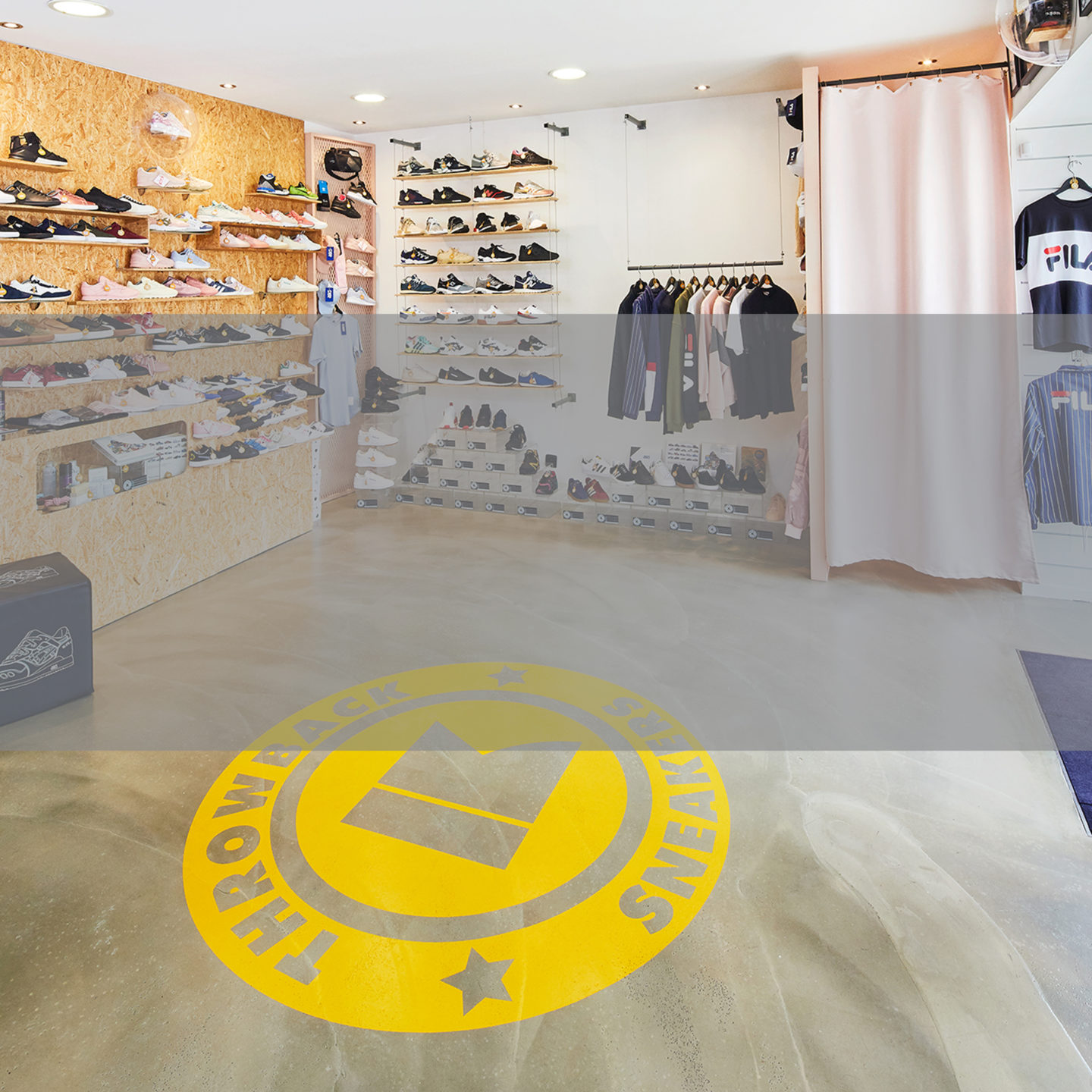 Throwback Sneakers Paris Belleville Store